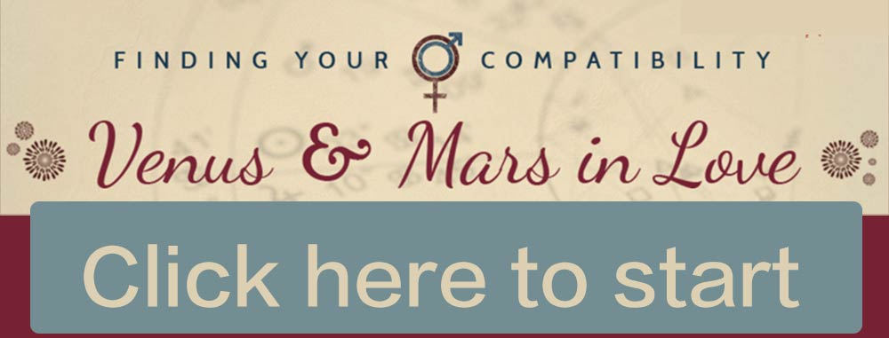 Venus and Mars Love Compatibility Calculator