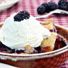 Celebrate the July Full Moon with tasty Blackberry Cobbler!