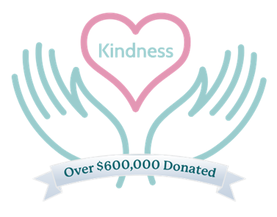 Through the Kindness Initiative, our customers' purchases have resulted in more than $600,000 donated to communities in need.