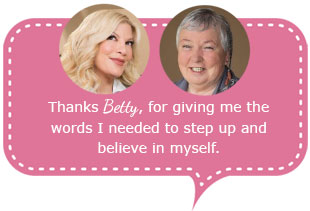 Tori Spelling and Psychic Betty