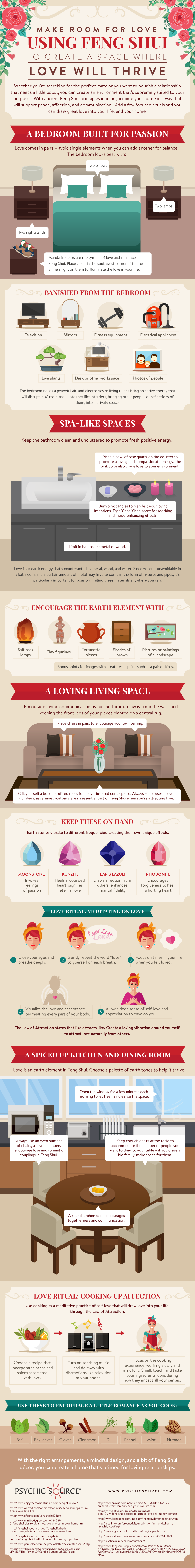 Feng Shui Tips for Love