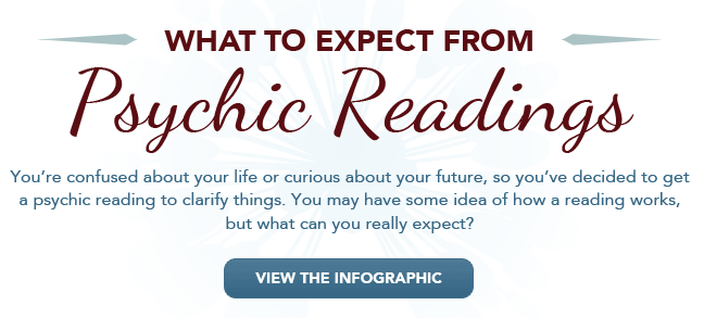 What to Expect from Psychic Readings - View the Infographic