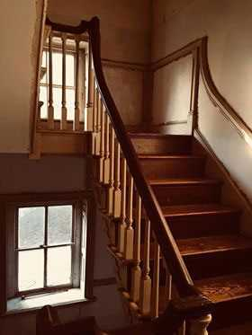 Selma Mansion Stairs